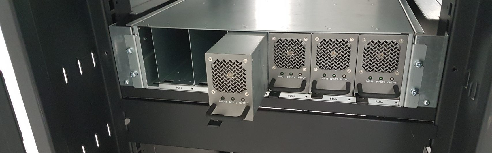 Liteon Power Shelf in OCP racksolutions enclosure